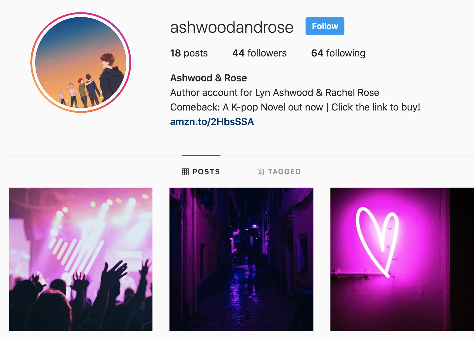 kpop novel – Ashwood and Rose
