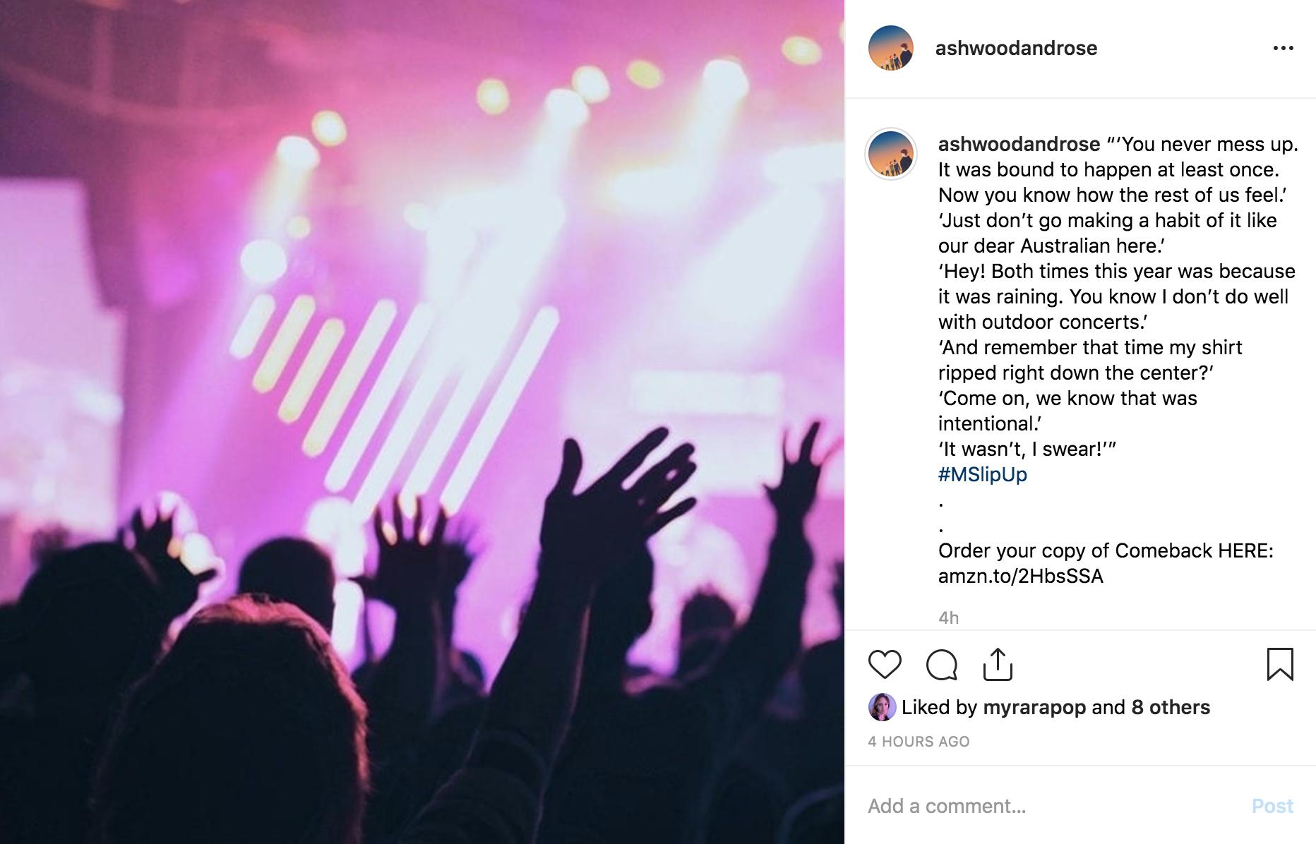 Follow Ashwood & Rose on Instagram!